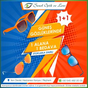 Güneş gözlüğünde kampanya