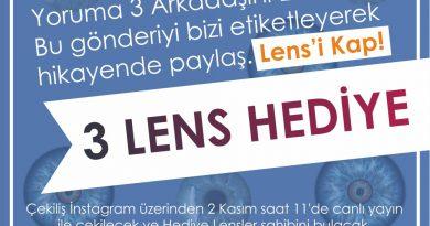 Renkli Lens Çekilişi Şenol Optik